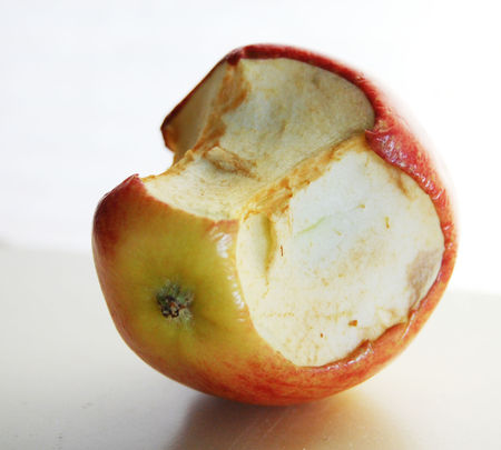 Figure 2: THE MAN ATE THE APPLE, OR THE APPLE ATE THE MAN?
